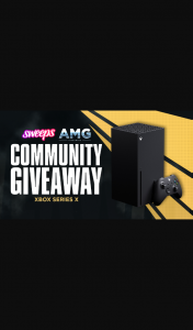 Sweeps – Win an Xbox Series X