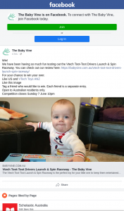 The Baby Vine – Win Your Own