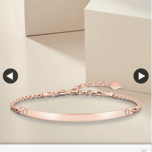 Thomas Sabo – Win Our Heart Bracelet In Rose Gold Valued at $249 (prize valued at $249)