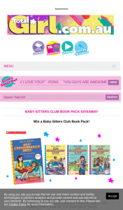 Total Girl – Win a Baby Sitters Club Book Pack