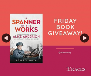 Traces magazine – Win a Copy of a Spanner In The Works Book
