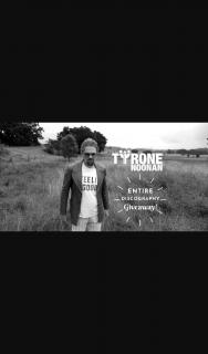 Tyrone Noonan – Win Tyrone Noonan's Entire Discography