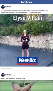 Weet-bix – Win a Weet-Bix Bowl