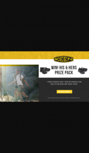 Wild Earth – Win a His and Hers Keen Boot & Sandal Prize Pack (prize valued at $1,000)