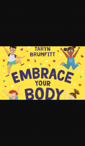 Win 1 of 5 Embrace Your Body Kids Books (prize valued at $19)