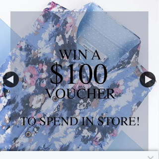 Win 1 of 3 $100 Voucher to Spend In Store – Jimmy Stuart Avalon Beach New South Wales (prize valued at $300)