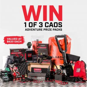 CAOS – 4×4 & Outdoors – Win 1 of 3 adventure prize packs