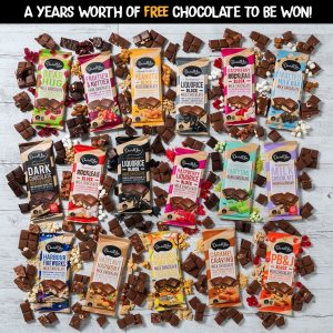 Darrell Lea – World Chocolate Day – Win 1 of 10 prizes of one years supply of Darrell Lea chocolate