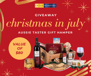 Interhampers Australia – Win a Christmas in July gift hamper