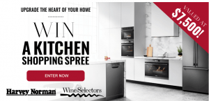 Wine Selectors – Win a kitchen shopping spree valued at $7,500