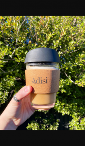 Adelady – Win Coffee for an Entire Month Plus a Beautiful Cork and Glass Keep Cup for You and Your Bestie From Adisi (prize valued at $350)