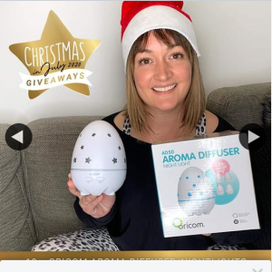 Adele Barbaro – Win 1 of 10 Aroma Diffuser/night Lights (prize valued at $600)