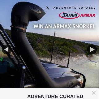 ADVENTURE CURATED – Win a Safari Armax Snorkel