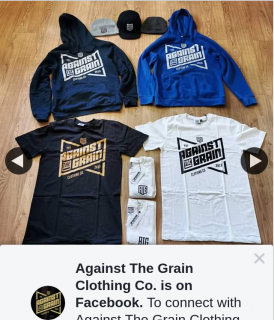 Against The Grain Clothing Co – Win Pack Includes Hoodies