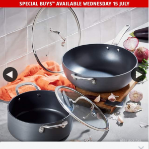 Aldi Australia – Win Hard Anodised Cookware