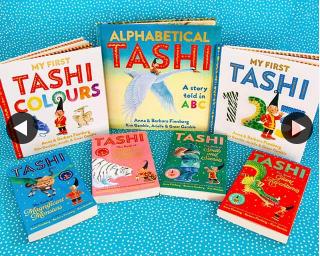 Allen & Unwin Books – Win a Tashi Prize Pack 10am