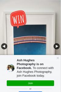 Ash Hughes Photography – Win Framed Print Geelong's Eastern Beach Boardwalk
