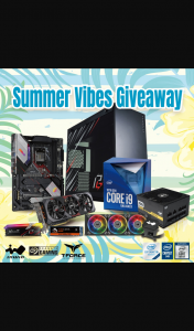 ASRock – Win an Intel Gaming Pc Asrock Motherboard Or Asrock Merch