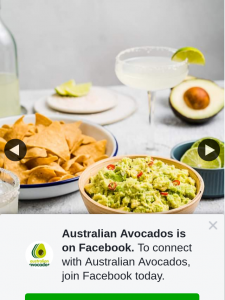 Australian Avocados – Win a Guacamole and Cocktail Starter Kit