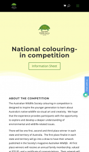 Australian Wildlife Competition – Win an Annual Membership (prize valued at $70)