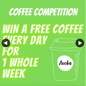 Avoka – Win Week's Worth of Coffee From Belridge Or Woodvale