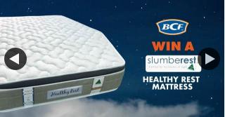 BCF – Win a Slumberest Healthy Rest Mattress