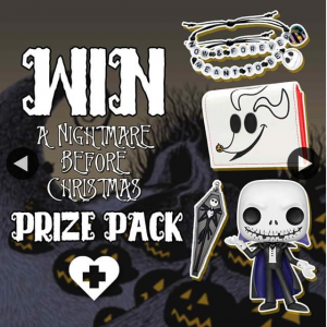 Beserk – Win a Nightmare Before Christmas Prize Pack From Wwwbeserk