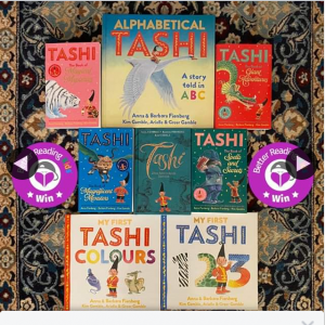 Better Reading Kids – Win One of Five Tashi Book Packs