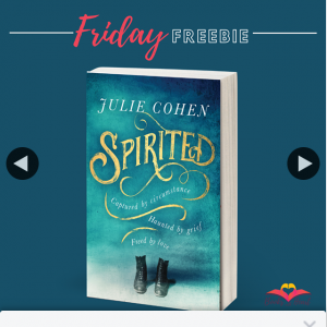 Books With Heart Book Club – Win 1 of 5 Copies of Spirited By Julie Cohen