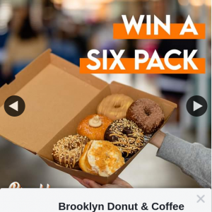 Brooklyn Donut & Coffee Co – Win a Six Pack of Brissie's Best Donuts
