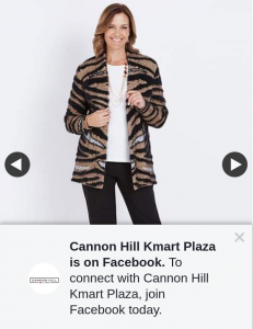 Cannon Hill Kmart Plaza – Win a Millers $50 Voucher Head Into @millersfashion Cannon Hill Today (prize valued at $50)
