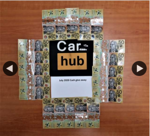 Carhub – Competition (prize valued at $1,000)