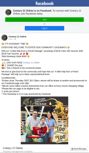 """Century 21 Online – Win Our """"a Little Help From a Friend Package"""" Consisting of $100 Coles Gift Voucher and $100 Fuel Voucher &#127817 &#129385 ⛽️ (prize valued at $200)"""