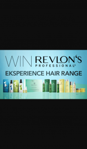 Channel 7 – Sunrise Family – Win The Entire Revlon Professional Eksperience Range In this Week's Sunrise Family Newsletter