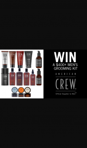 Channel 7 – Sunrise – Win a Men's Hair Grooming Kit Worth Over $400 From American Crew In this Week's Sunrise Family Newsletter