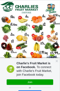 Charlie's Fruit Market Everton Park – Win $50 Voucher to Spend at The Fruit Market (prize valued at $50)