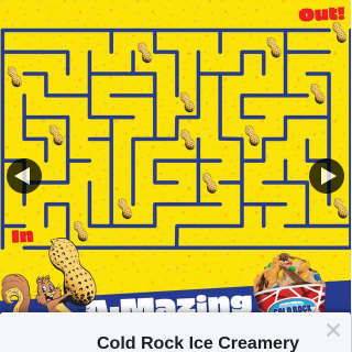 Cold Rock Ice Cream – Win The $200 Cold Rock Gift Voucher