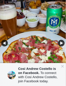 Cosi Andrew Costello – Win a $100 Caffe Buongiorno Mitcham Voucher (prize valued at $100)