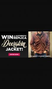 Dendy – Win this Authentic Deerskin Jacket