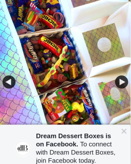 Dream Dessert Boxes – Win 1 of 4 Snack Packs