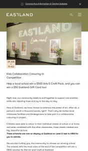 Eastland – Win a $500 Voucher for Riot Art and Craft at Eastland