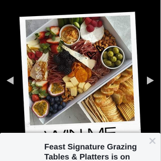 Feast Signature Grazing Tables & Platters – Win Our Graze 1 Box Rammed Full of Amazing Cheeses