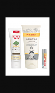Female – Win 1/3 $50 Burt's Bees Winter Packs (prize valued at $150)