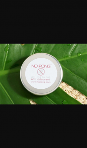 Female – Win One of 20 X No Pong All-Natural Deodorant Tins Valueda T $179. (prize valued at $179)