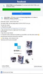 GIGA PIXEL – Win Action Cam Est