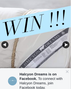 Halcyon Dreams – Win a Halcyon Dreams Pure Opulence Winter Wool Doona Valued at Up to $559 RRP (prize valued at $559)