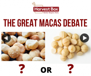 Harvest Box – Win a Bulk Pantry Pack of These Deliciously Creamy Gems of Nature