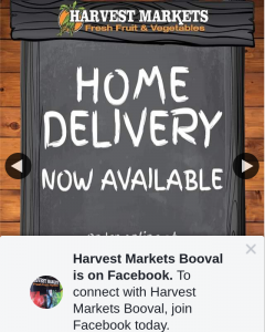 Harvest Markets Booval – Win a $50 Fruit and Veg Voucher
