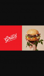 Hit 92.9 – Win $50 Grill'd Voucher