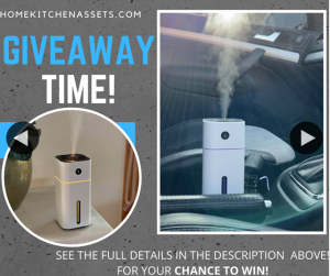 Home Kitchen Assets – Win Our Car & Home Aroma Humidifier